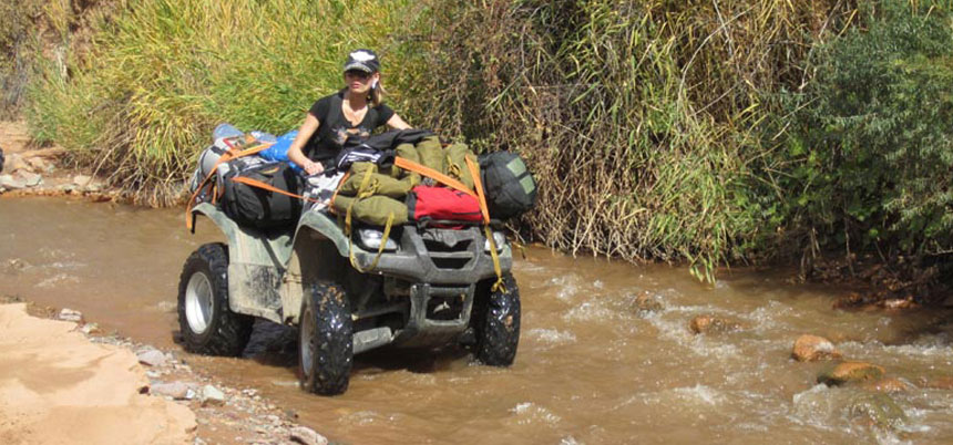 4x4 ATV Adventure Tour through the Tian Shan mountains