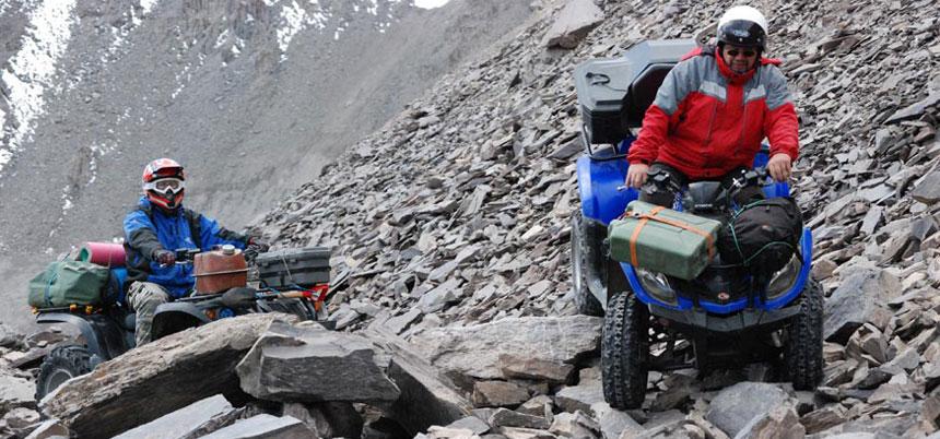 4x4 ATV / UTV (Side by Side) Spedizione sulla cima del Monte Elbrus 5.642 metri