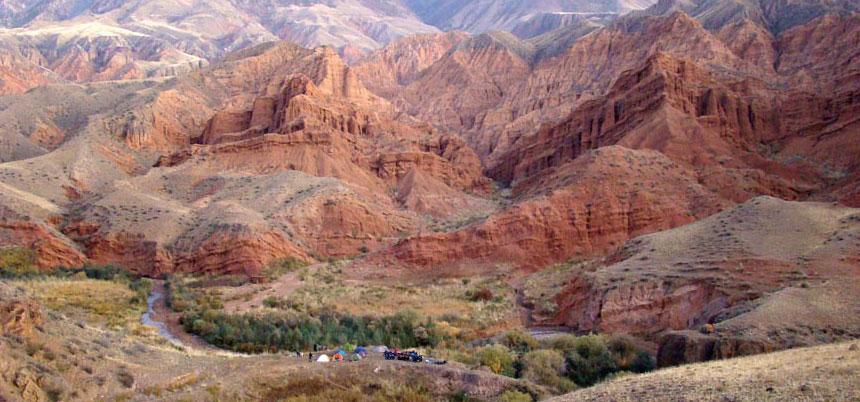 ATV Adventure Tour sul Kegety Pass fino al Konortchok Canyon